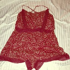 Abercrombie and Fitch Large Romper